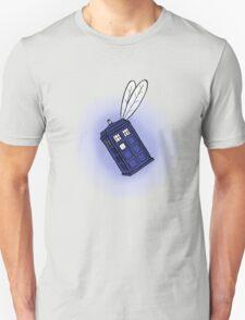Flying Phone Box T-Shirt