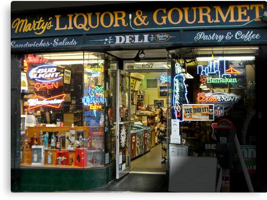 Marty's Liquor & Gourmet Deli by David Denny