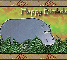 Happy Birthday Hippo by jkartlife