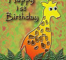 Happy 1st Birthday Giraffe by jkartlife