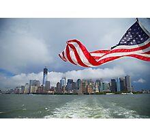 Manhattan overview Photographic Print