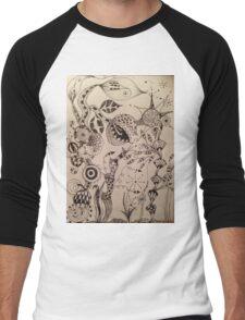 Zen garden Men's Baseball ¾ T-Shirt