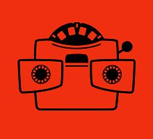 Viewmaster Black Red Card & Prints by M  Bianchi