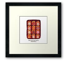 Free Battery Hens from Hell Framed Print