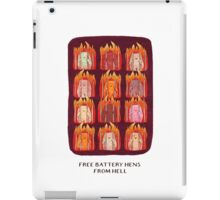 Free Battery Hens from Hell iPad Case/Skin
