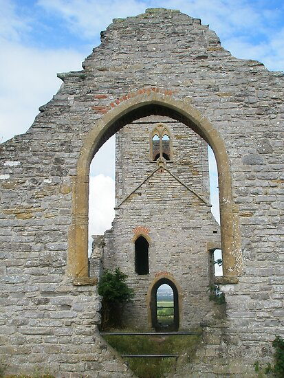 Doors and Windows at Barrow Mump by lezvee