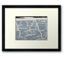 Ripples - II Framed Print