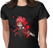 Kuroshitsuji - Grell Womens Fitted T-Shirt