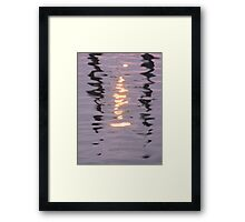 Light and Water - II Framed Print