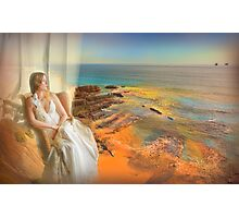estoril window... Photographic Print