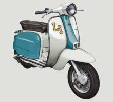 Lambretta LI150 by Tony  Newland