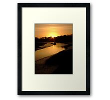 Down By The Water - I Framed Print