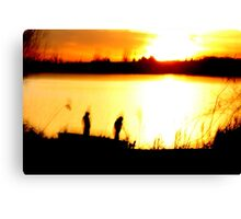 Two Guys Canvas Print