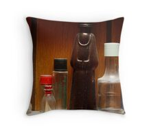 Ship in the Bottle Throw Pillow