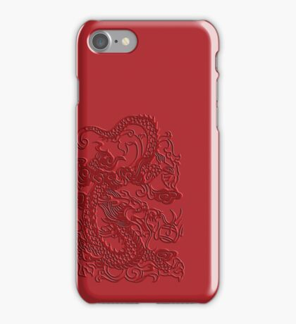Red Asian Japanese Dragon iPhone Case iPhone Case/Skin
