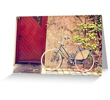 Hi Bicycle Greeting Card