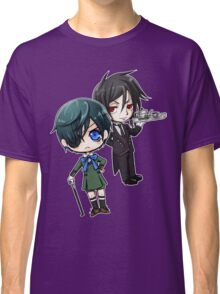 Kuroshitsuji - Ciel & Sebastian Classic T-Shirt