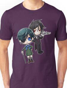 Kuroshitsuji - Ciel & Sebastian Unisex T-Shirt