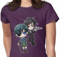 Kuroshitsuji - Ciel & Sebastian Womens Fitted T-Shirt