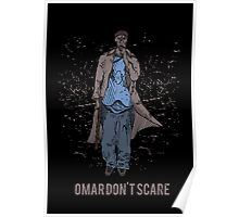 Omar Don't Scare Poster