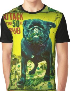 50 ft pug Graphic T-Shirt