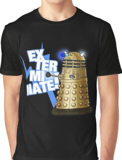Doctor Who - EX-TER-MIN-ATE! Graphic T-Shirt