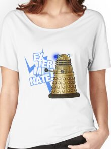 Doctor Who - EX-TER-MIN-ATE! Women's Relaxed Fit T-Shirt