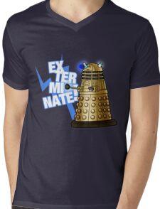 Doctor Who - EX-TER-MIN-ATE! Mens V-Neck T-Shirt