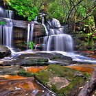 Twin Falls at Somersby by TedmBinegas