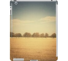 Travelling Memories: Pure Nature in Denmark (Vintage) iPad Case/Skin