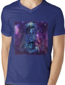 Matt Smith Galaxy  Mens V-Neck T-Shirt