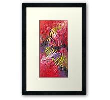 Pink Tropics Framed Print