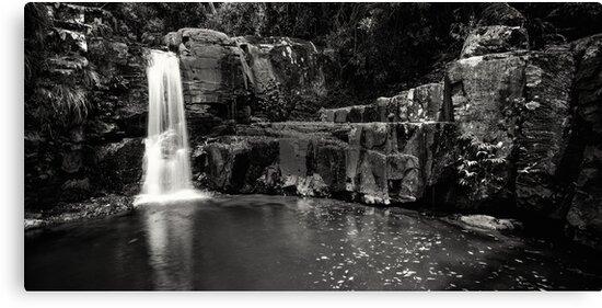 """Bahnamboola Falls"" ∞ Lamington National Park, QLD - Australia by Jason Asher"
