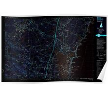 USGS TOPO Map New Hampshire NH Exeter 329889 1985 25000 Inverted Poster