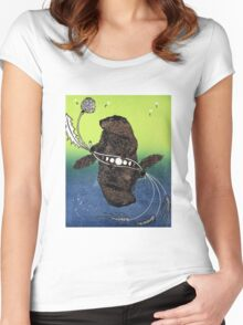 Groundhog Day Women's Fitted Scoop T-Shirt