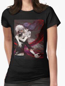 Tokyo Ghoul Rize Kaneki Womens Fitted T-Shirt