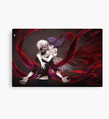 Tokyo Ghoul Rize Kaneki Canvas Print