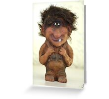 Troll mania Greeting Card