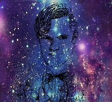Matt Smith Galaxy  by EmmaPopkin