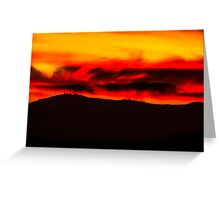 Vancouver Island Sunset Greeting Card