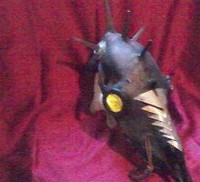 DEATH HEAD (DEER SKULL) by chowbaby