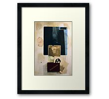 LA MEMORIA Y SU PESO (memory and it's weight) Framed Print