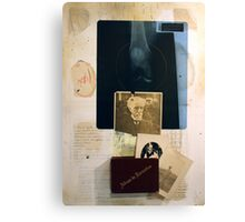 LA MEMORIA Y SU PESO (memory and it's weight) Canvas Print