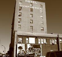 Abilene, Kansas - Hotel Sunflower by Frank Romeo