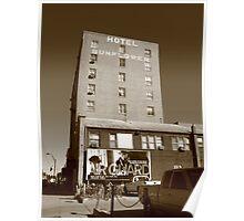 Abilene, Kansas - Hotel Sunflower Poster