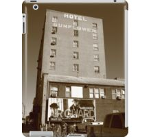 Abilene, Kansas - Hotel Sunflower iPad Case/Skin