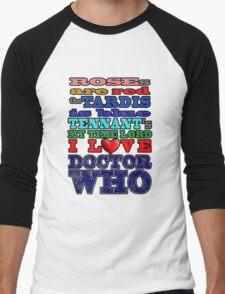 Valentine WHO - Tennant Men's Baseball ¾ T-Shirt
