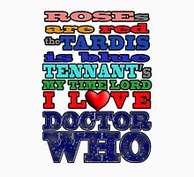 Valentine WHO - Tennant Unisex T-Shirt