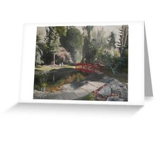 Arbour Bridge Greeting Card