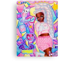 Smooches Canvas Print